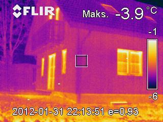 badanie termowizyjne domu