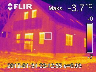 termowizja domu energooszczędnego