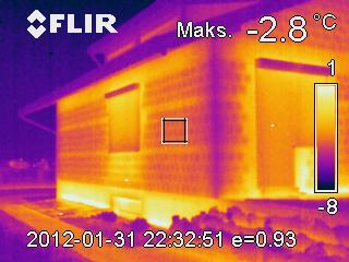 termowizja w budownictwie
