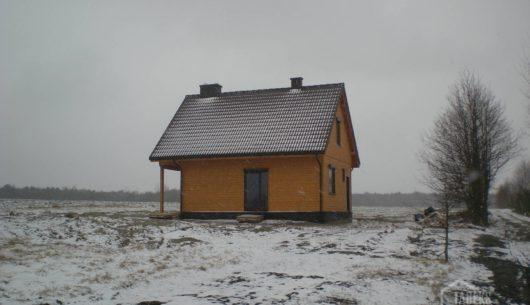Budowa domu drewnianego szkieletowego